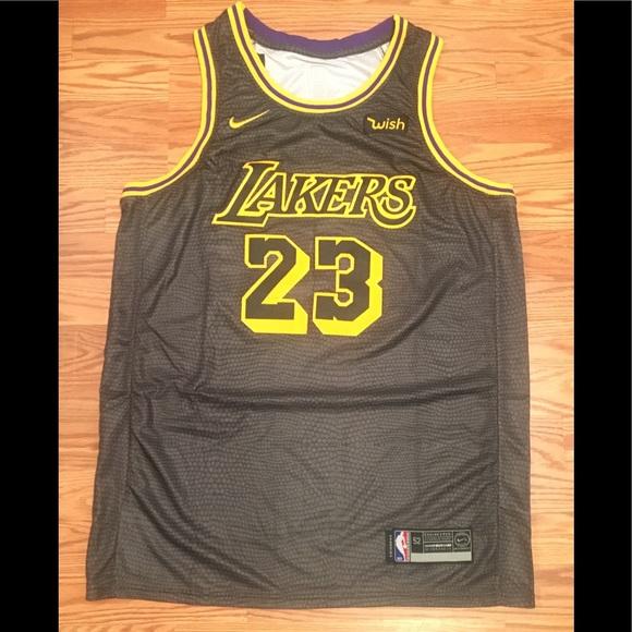 bf6977d4 Nike Shirts | Lebron James City Edition Lakers Jersey | Poshmark
